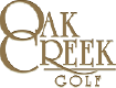 oak creek golf logo
